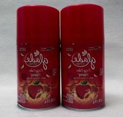 2 Glade Automatic Spray Refill COZY CIDER SIPPING Room Spray
