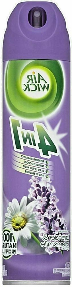 2 Bottles AIR WICK LAVENDER & CHAMOMILE 4 IN 1 Air Freshener
