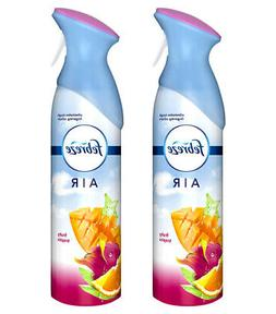 2 Pack Febreze Air Freshener Room Spray Fruity Tropics Scent