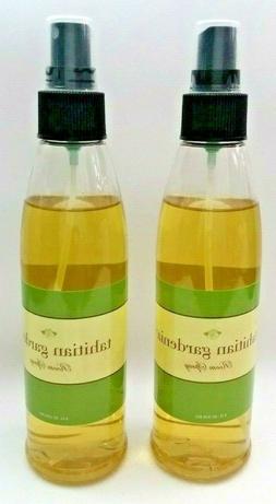 2 Pk Tahitian Gardenia Natural Fragrance Oils Room Spray 8 o
