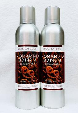 2 AP Fragrance Your Season CINNAMON SPICE Room Fragrance Spr