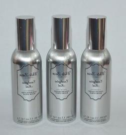 3 BATH BODY WORKS EUCALYPTUS MINT CONCENTRATED ROOM SPRAY WH