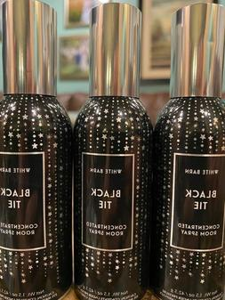 3 BATH & BODY WORKS BLACK TIE CONCENTRATED ROOM SPRAY PERFUM