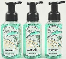 3 BATH & BODY WORKS HAWAII COCONUT COLADA GENTLE FOAMING HAN