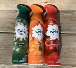 3 Limited Edition Febreze Room Spray