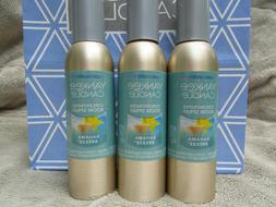 3 *NEW* Yankee Candle Concentrated Room Spray Sprays Bahama