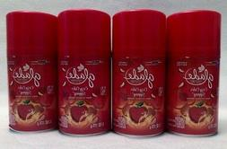 4 Glade Automatic Spray Refill COZY CIDER SIPPING Room Spray