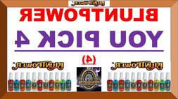 4 BluntPower 100% Concentrated OIL BASE Air Freshener Spray