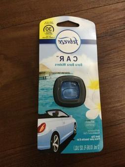 4 Febreze Car Vent Clip Air Freshener, Bora Bora  *Free Ship