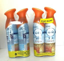 4 New Febreze Fresh Fall Pumpkin Room Spray