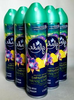 5 GLADE Aerosol Room Spray Scented Air Freshener ENCHANTED F
