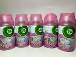 5 x Air Wick Magnolia Freshmatic Refills Automatic Spray 6.2