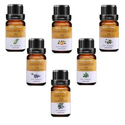 VSADEY Essential Oils Set, Top 6 Aromatherapy Essential Oil