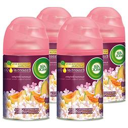 Air Wick Life Scents Freshmatic 4 Refills Automatic Spray, S