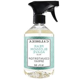 Caldrea Pear Blossom Agave Countertop Spray Surface Cleaner
