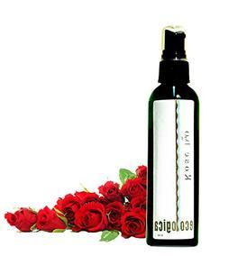 Ecologica 100% Rose Water Facial Spray, Facial Toner, Linen
