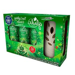 Glade Automatic Spray Starter Set, Tree Lighting Wonder, 3 R