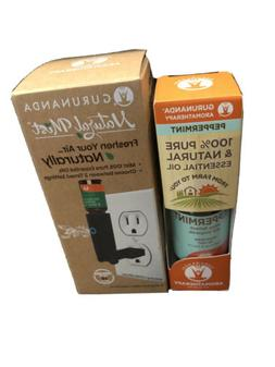 GuruNanda Natural Mist- Wall Plug in Diffuser - Essential Oi