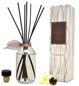 LOVSPA Smoked Vanilla Bean Reed Diffuser Set | Scented Stick