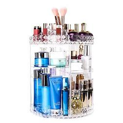 Makeup Organizer 360 Degree Rotating Adjustable Vanity Organ