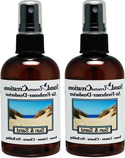 Set of 2-4-oz.-Concentrated Spray Air-Freshener/Deodorizer -