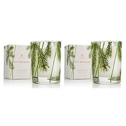 Thymes - Fragrant Frasier Fir Votive Candle with 15-Hour Bur