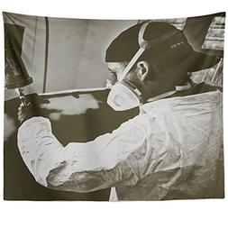 Westlake Art - Monochrome Car - Wall Hanging Tapestry - Pict