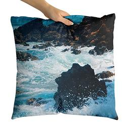Westlake Art - Rock Storm - Decorative Throw Pillow Cushion