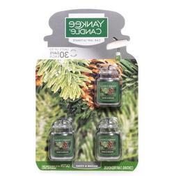 Yankee Candle Car Jar Ultimate Balsam and Cedar 3pack