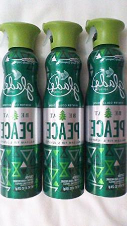 Glade Premium Air Freshener Spray - Be At Peace - Balsam Fir