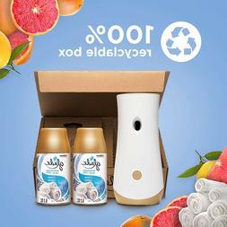 Air Freshener Spray Automatic Refill Holder Kit Room Bathroo