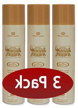 Al-Rehab - Aseel- Scent Room Spray / Air Freshener 300ml 3 P