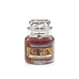 Yankee Candle Autumn Wreath Small Jar Candle, Food & Spice S