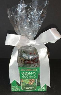 Yankee Candle Balsam Cedar Tealight Candle Holder Set