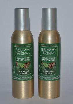 Yankee Candle Balsam & Cedar Concentrated Room Spray, Festiv