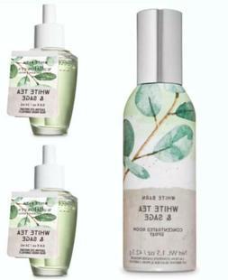 Bath Body Works WHITE TEA & SAGE Wallflower Fragrance Refill