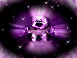 BLACK AMETHYST TYPE FRAGRANCE OIL - 1 OZ - FOR CANDLE & SOAP