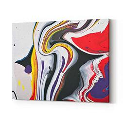 Rosenberry Rooms Canvas Wall Art Prints - Abstract Acrylic M