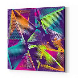 Rosenberry Rooms Canvas Wall Art Prints - Abstract Seamless