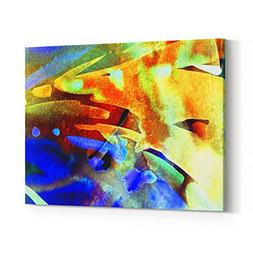 Rosenberry Rooms Canvas Wall Art Prints - Abstract Watercolo