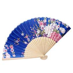 Cinhent Hand Folding Fans Chinese Tranditional Cultural Cust