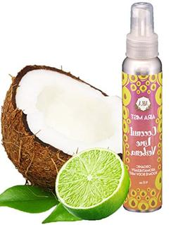 Aira Mist Coconut Lime Verbena Organic Room Spray - Essentia