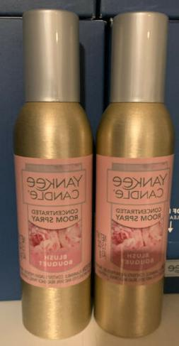 Yankee Candle Concentrated Room Spray 2 Pack Of Blush Bouque