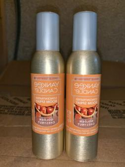 yankee candle concentrated room spray 2 Pack Of Golden Chest