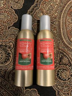Yankee Candle Concentrated Room Spray 2 Pack Of Macintosh