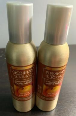 yankee candle concentrated room spray 2 Pack Of Spiced Pumpk