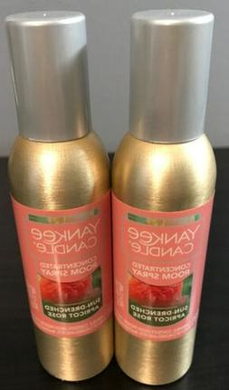 Yankee Candle Concentrated Room Spray 2 Pack Of Sun-Drenched