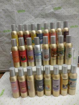 Yankee Candle Concentrated Room Spray 300 Sprays Per Can New