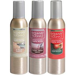 Yankee Candle Concentrated Room Sprays: Macintosh, Home Swee