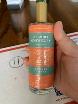 Crabtree & Evelyn FROSTED SPICEWOOD Room Spray 3.4 Fl Oz NEW